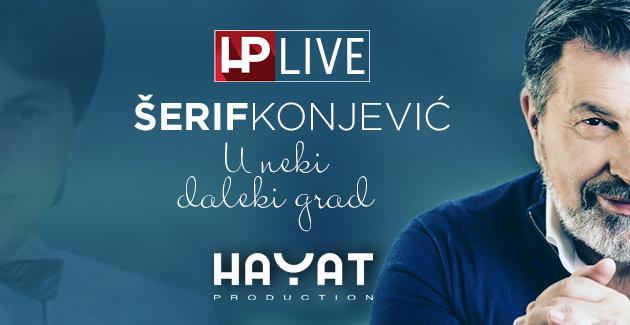 """Šerif Konjević u HP Live-u izveo pjesmu """"U neki daleki grad"""""""