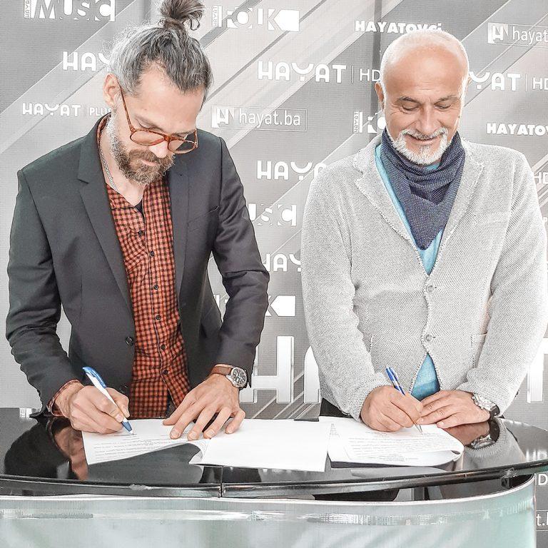 Dino Džihić potpisao je ugovor sa Hayat Produkcijom