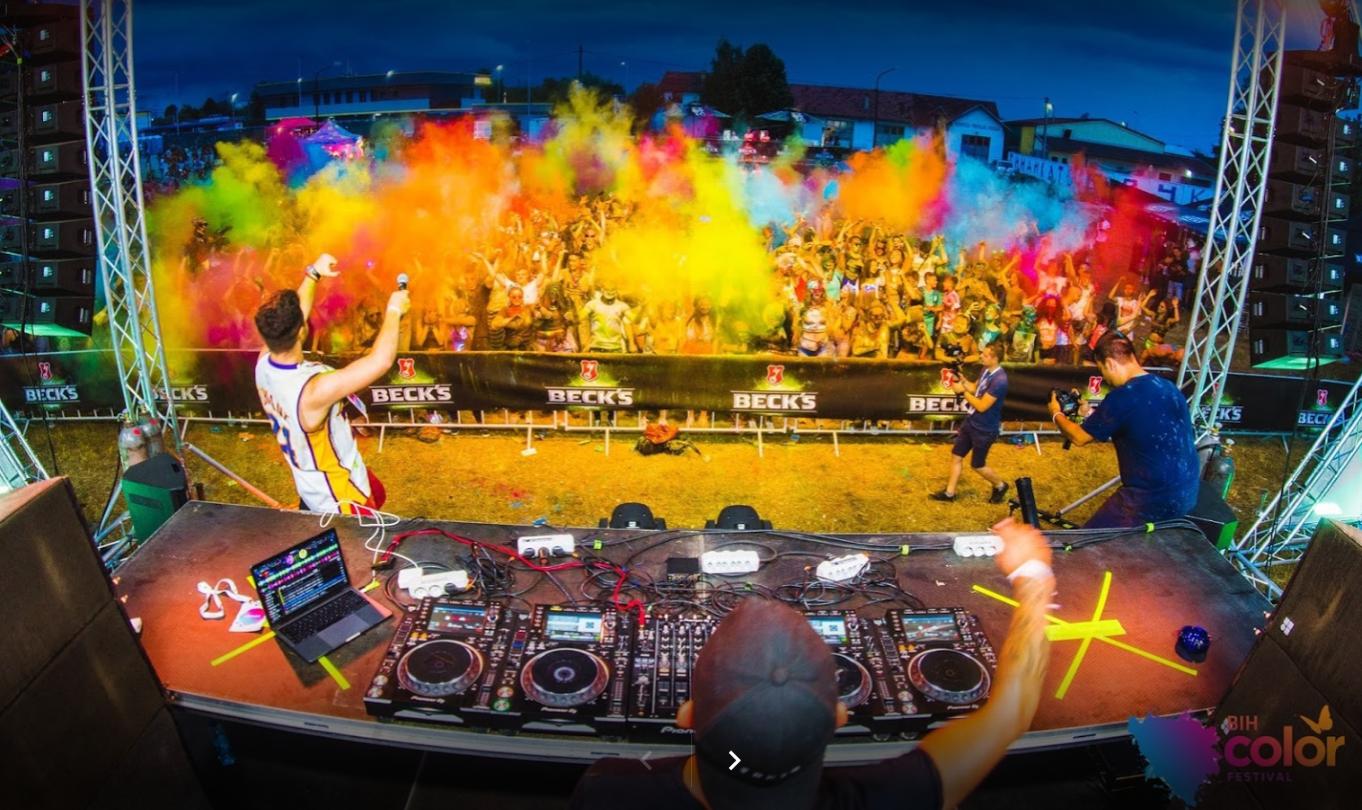 """Najšareniji """"BH Color festival"""" održat će se u Brčkom 21. i 22. avgusta"""